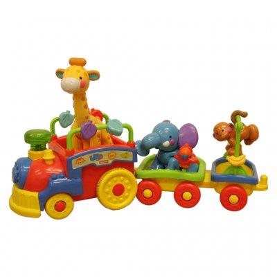 Bunte Eisenbahn für die Kleinen -