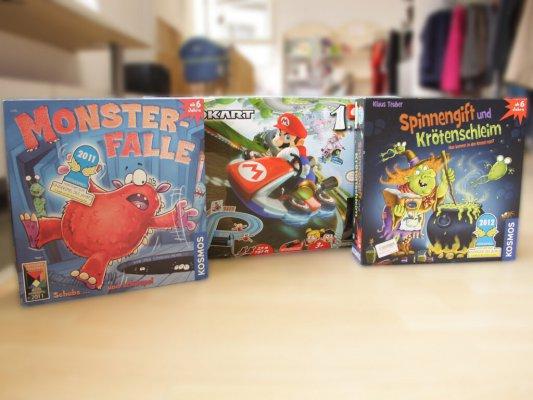 Spiele für Groß und Klein - Spiele für die Großen und für die Kleinen